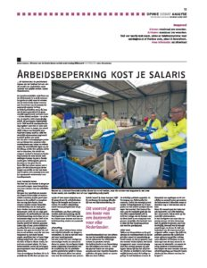 Column D.Jansen in Nederlands Dagblad